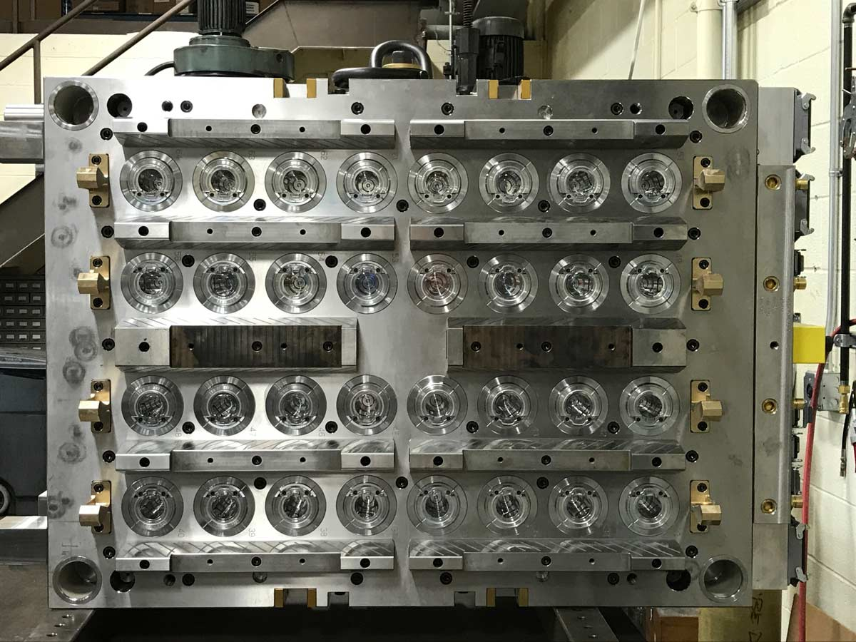 Larg 32 Cavity Production mold side 2