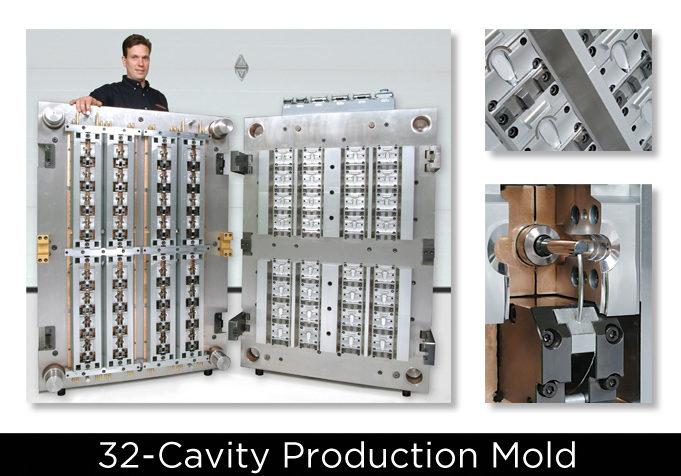 Large 32 Cavity Production mold